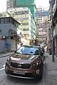 HK 西環 Sai Ying Pun 德輔道西 Des Vouex Road West 朝光街 Chiu Kwong Street brown KIA car parking Sept 2017 IX1.jpg