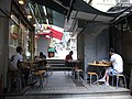 HK Sheung Wan 上環 摩羅上街 Lower Lascar Row 華樂冰室 restaurant stairs Tung Street June-2012.JPG