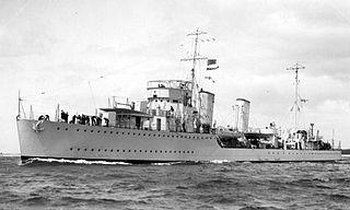 HMCS <i>Skeena</i> (D59) Canadian River-class destroyer