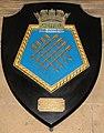 HMS Sheffield plaque, Sheffield Town Hall.jpg