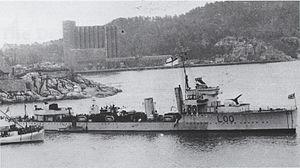 HMS Valorous (L00) - HMS Valorous (L00)