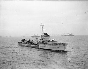 HMS Vanity (D28) - HMS Vanity (L38)