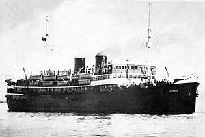 Soviet hospital ship Armenia