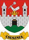 Huy hiệu của Csesznek