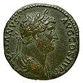 Hadrien sesterce Gallica 14422 avers.jpg