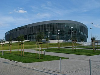 Gliwice - Gliwice Arena multi-purpose indoor arena with a seating capacity of 13,752