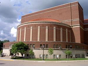 Elliott Hall of Music - Image: Hall of Music, Purdue