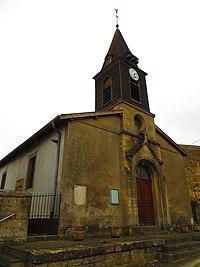 Han-lès-Juvigny L'église Saint-Jean-L'Évangéliste.JPG