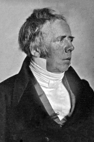 Hans Christian Ørsted - Image: Hans Christian Ørsted daguerreotype
