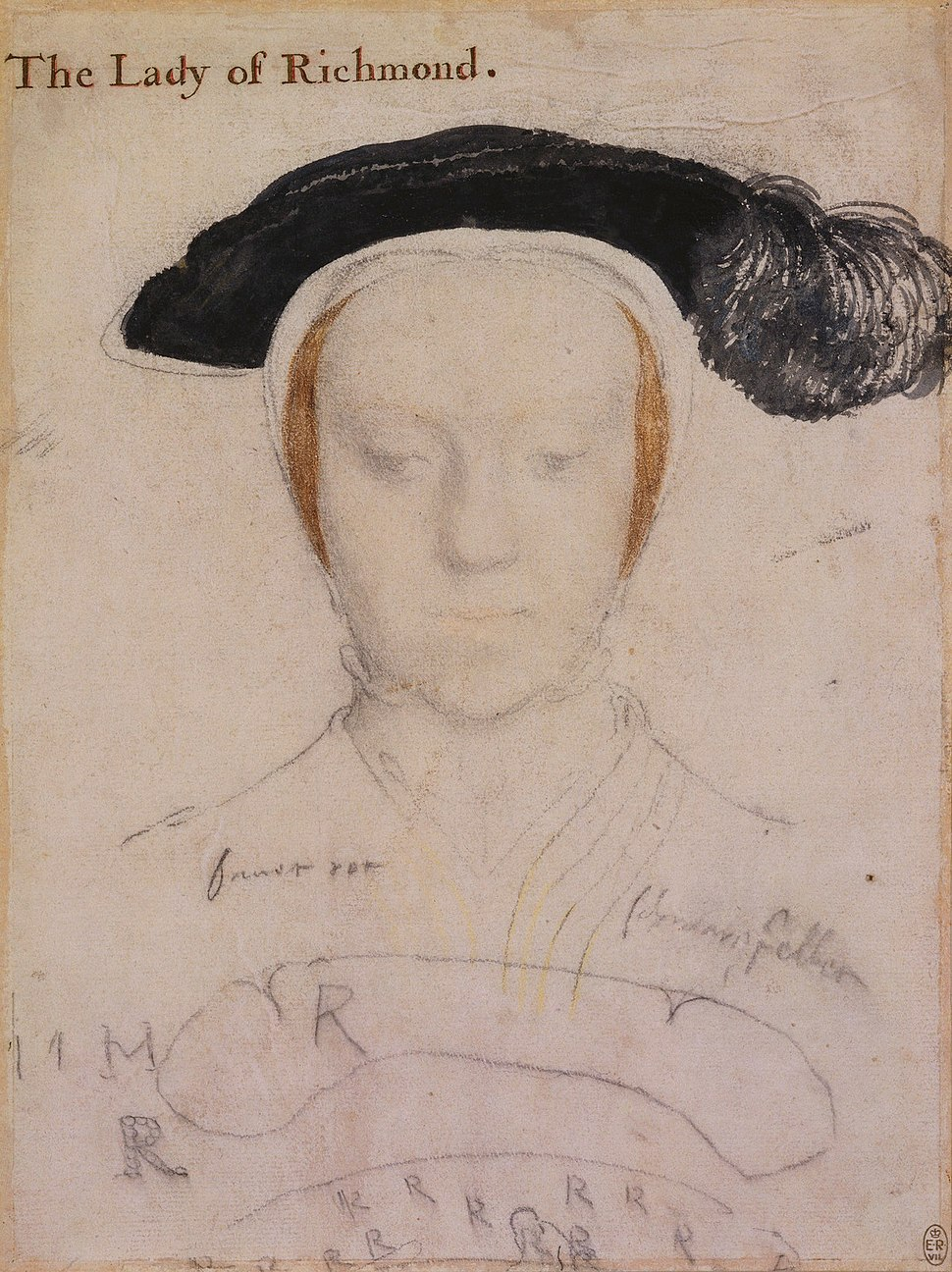 Hans Holbein the Younger - Mary, Duchess of Richmond and Somerset RL 12212