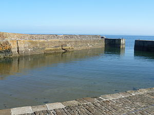 Cellardyke - The harbour entrance