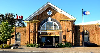 Grand Falls-Windsor - Image: Harmsworth Hall 2
