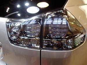 Harrier hybrid led brake lamp