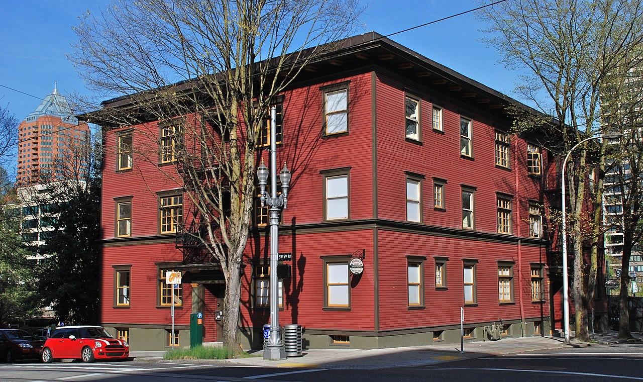 Harrison Court Apartments Portland