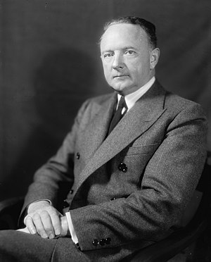 "Stanley plan - Senator Harry F. Byrd, Sr., who advocated ""massive resistance"" to school integration."
