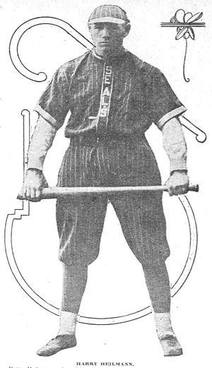 Harry Heilmann - Heilmann won the PCL batting title with the San Francisco Seals in 1915