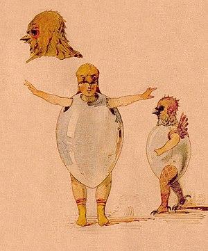 Viktor Hartmann - Image: Hartmann Chicks sketch for Trilby ballet