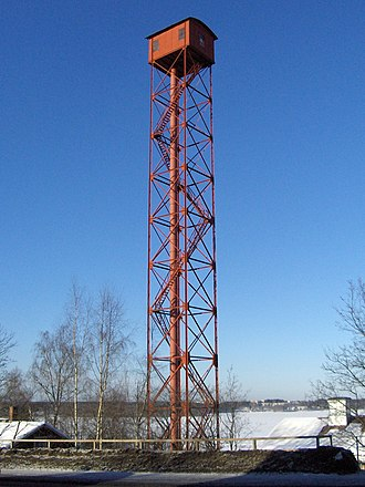 Pispala - Passing the shot tower.