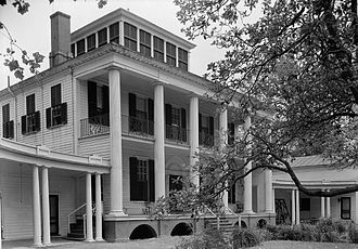 William Nichols (architect) - Hayes Plantation House, completed in 1817 in Edenton, North Carolina.