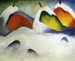 Haystacks in the Snow by Franz Marc 1911.jpeg