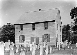 Head-of-the-River Methodist Episcopal Church, Etna Road, Corbin City, Atlantic County, NJ HABS.jpg