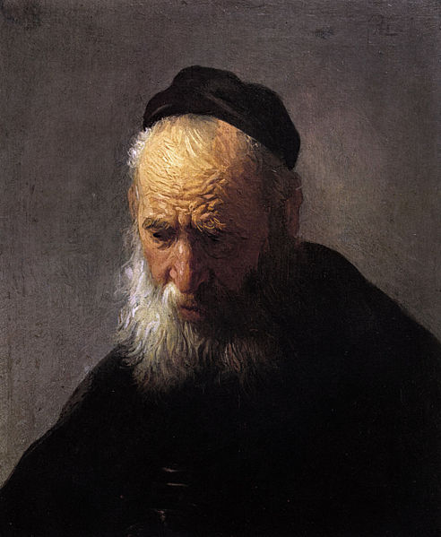 File:Head of an Old Man in a Cap, by Rembrandt.jpg