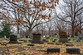 Headstones - Lake View Cemetery - 2014-11-26 (17656716412).jpg