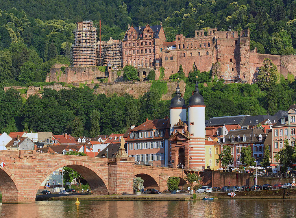 Heidelberg Schloss Alte Brücke 20100626