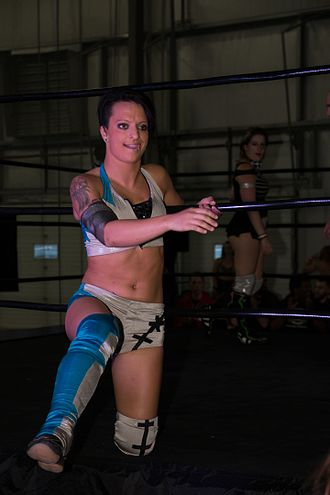 Ruby Riott - Lovelace at a live event in September 2014