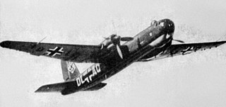 Heinkel He 177 Greif German heavy bomber during WW2
