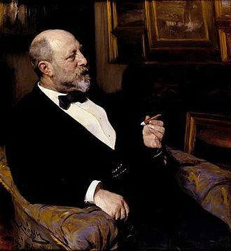 Hirschsprung Collection - Heinrich Hirschsprung, the founder of the museum, painted by his friend Peder Severin Krøyer in 1899