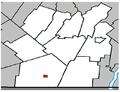 Hemmingford (village) Quebec location diagram.PNG
