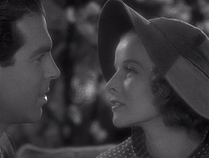 Alice Adams (film) - Fred MacMurray and Katharine Hepburn in Alice Adams