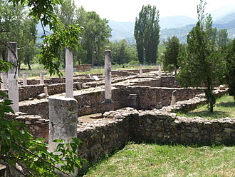 Heraclea Lyncestis - Ruins at Heraclea