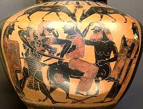 Herakles Nessos Louvre E803