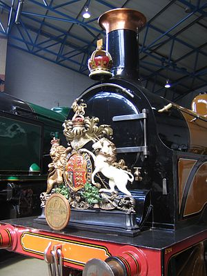 LB&SCR B1 class - Image: Heraldics for royal train