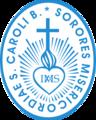 Herb Kongregacji Sióstr Miłosierdzia św. Karola Boromeusza w Trzebnicy.png