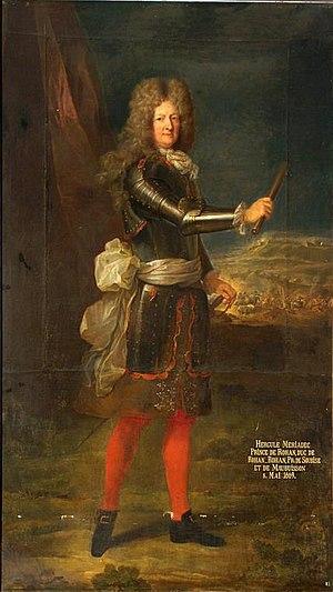 Hercule Mériadec, Duke of Rohan-Rohan - Image: Hercule Meriadec, princ z Rohanu, princ de Soubise (1669 1749)