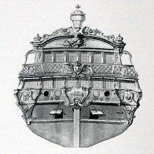 French ship Héros (1778) - Image: Heros img 3178