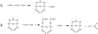 Mercury(II) sulfate - The use of HgSO4 as a catalyst in the production of Acetaldehyde
