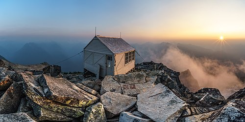 Hidden Peak Fire Lookout