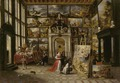 Hieronymus Janssens - A Picture Gallery with Fashionable Visitors.tiff
