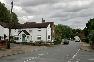 Lidlington village and civil parish in Central Bedfordshire, England