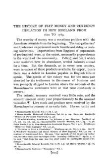 History of Fiat Money and Currency Inflation in New England from 1620 to 1789.djvu