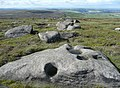 Holey rock, West Nab Moss, Meltham - geograph.org.uk - 1355629.jpg