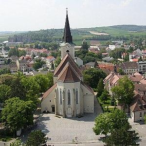 Hollabrunn - The parish church of Hollabrunn