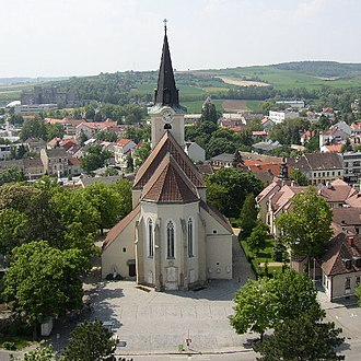 Hollabrunn - The parish church of Hollabrunn