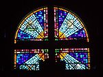 Holy Cross Church window (Garrett Park, Maryland).JPG