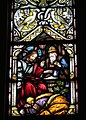 Holy Name Church (Columbus, Ohio) - stained glass, south arcade, Anointing of Jesus.jpg