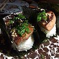 Homemade SPAM Musubi (16185782444).jpg